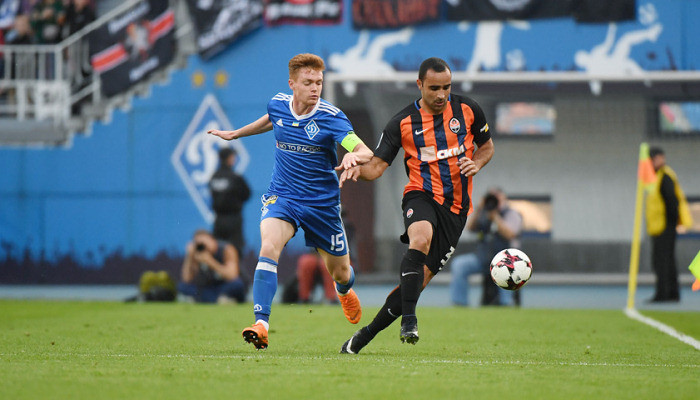 Динамо Шахтер Премьер-лига Украины