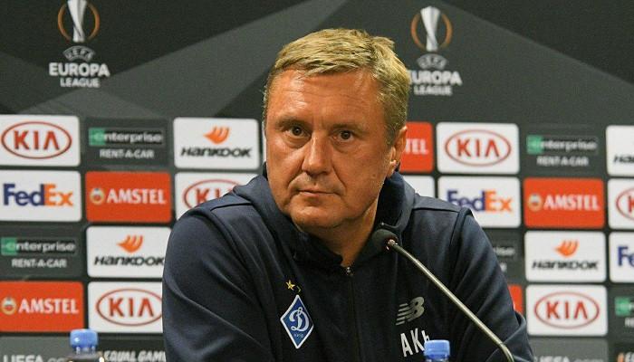 Хацкевич покинет Динамо в случае невыхода в группу Лиги чемпионов