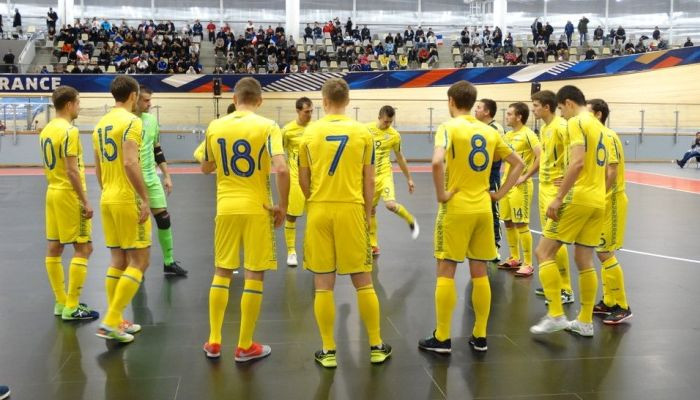 Стал известен состав футзальной сборной Украины на международный турнир в Ивано-Франковске