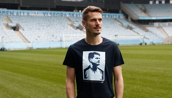 Капитан Мальме Росенберг в игре с Динамо проведет свой прощальный матч на домашнем стадионе