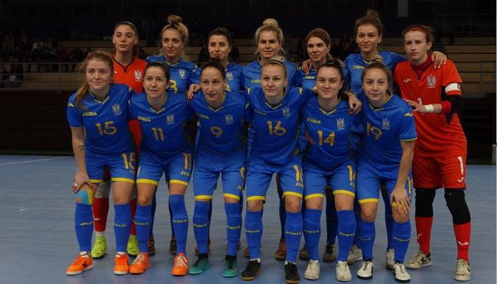 Женская сборная Украины по футзалу разгромила Словакию и во втором спарринге